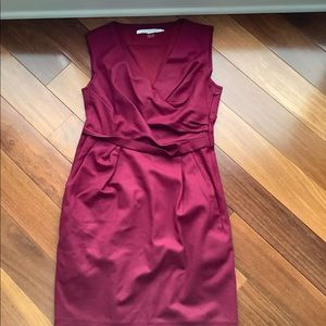 Dvf wool sleeves dress size 4